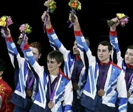 100 years later uk got medal in artistic gymnastic