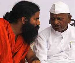 will not walk on anna path says baba ramdev