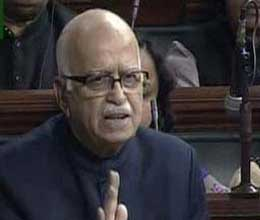 advani terms upa second illegal during monsoon session