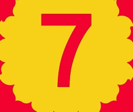 people with number 7 fickle minded