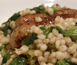 sausage and theme risotto recipe
