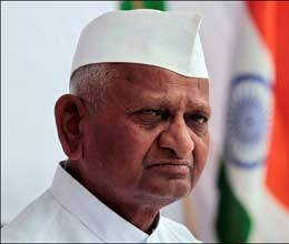 anna support arvind if he contested against sibal