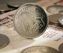 Rupee 35 paise stronger against the dollar