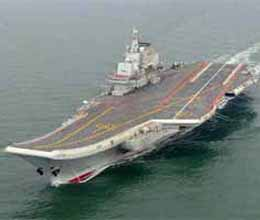 china first aircraft carrier commissioned