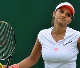 sania nuria out in first round