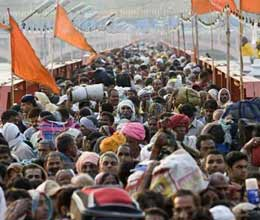 get every information of kumbh sitting at home