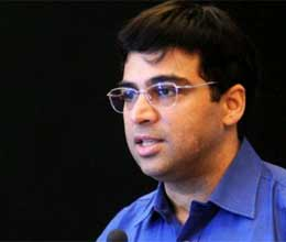 anand fight Karuana in eighth round