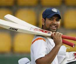 manoj tiwary and rohit sharma eye test spots playing in ranji trophy