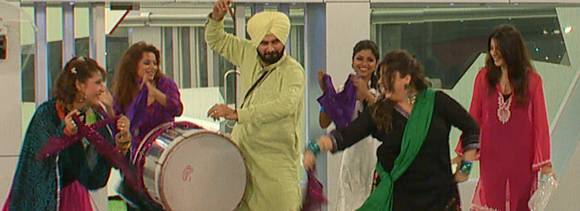 bigg boss 6 day 4 what makes delnaaz paul cry