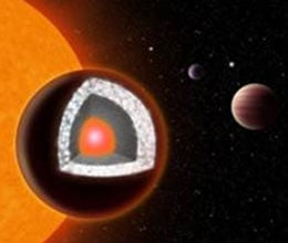 Diamond planet identified around nearby Sun like star