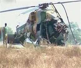 Navy helicopter crashed in Goa, 3 dead