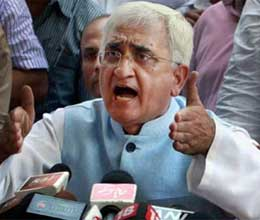 officers are denying claims of salman khurshid