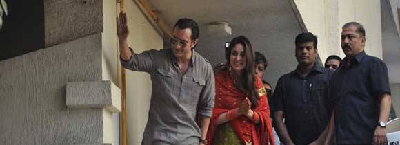 saif kareena first look after marriage