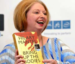 hilary mantel makes history with second booker prize