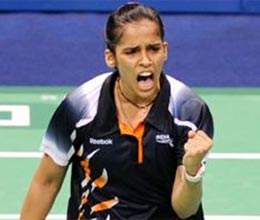 saina wins at the start of the french open super series