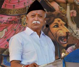 bjp has to take a decision on modi says rss
