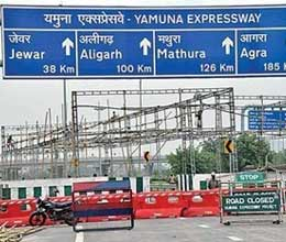 no entry for heavy vehicles on yamuna express way during formula one race