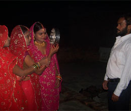 three sisters kept karwa chauth for one husband