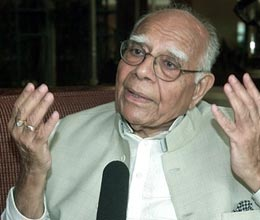 bjp can take action against jethmalani