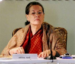 sonia gandhi balling ministers