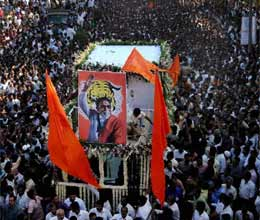 bal thackeray funeral