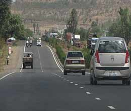 heavy vehicles will not run on nh 24 from today evening