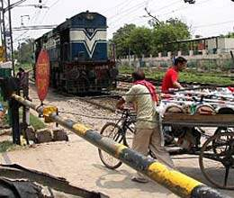 mobile video vans will aware passers by about railway crossing