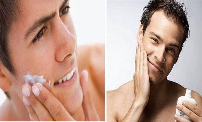 dry skin men