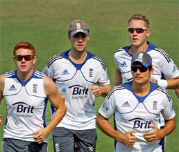 england practice hard ahead of third test work to master spin
