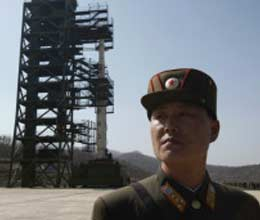 north korea preparation missile test shed satellites