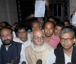 ruckus in west bengal assembly as left trinamool congress mlas come to blows