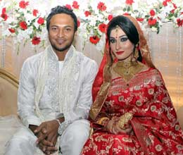 shakib al hasan marriage