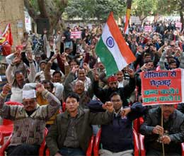 promotion quota bill 18 lakh employees on strike in up
