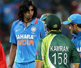 ishant sharma sledging kamran akmal in t20 at bangalore