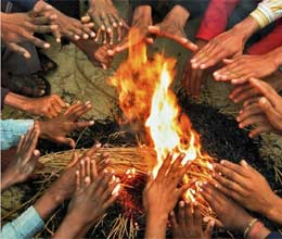 45 die due to cold in UP