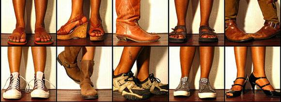 know your personality through your shoes