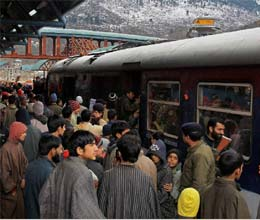 kashmir train trial run through pir panjal tunnel successful