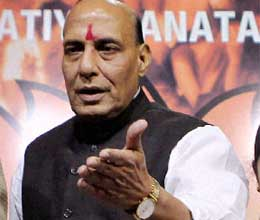 bjp working on improving strength in south north east says rajnath