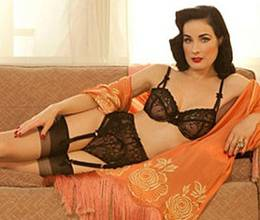 Dita Von Teese Launches Her New Lingerie