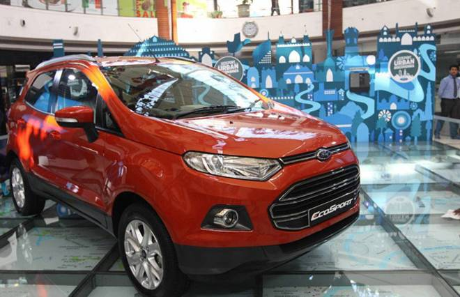 ford ecosport unveiled officially in mumbai