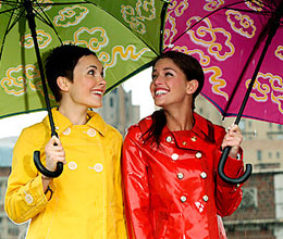 how to look stylish in monsoon