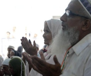 haj devotees can,t move this time again