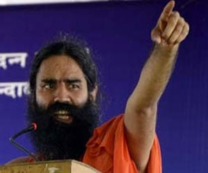 Congress creating economic social anarchy syas Ramdev