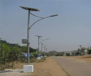 Street Lights of Industrial Ares are Closed