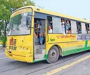 Roadways buses blockade for four days
