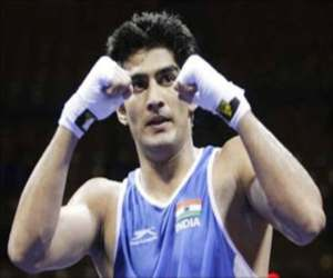 vijender singh will never play for india