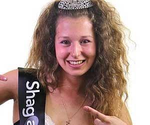 Elina Desaine named Britains Horniest Student degrading online competition