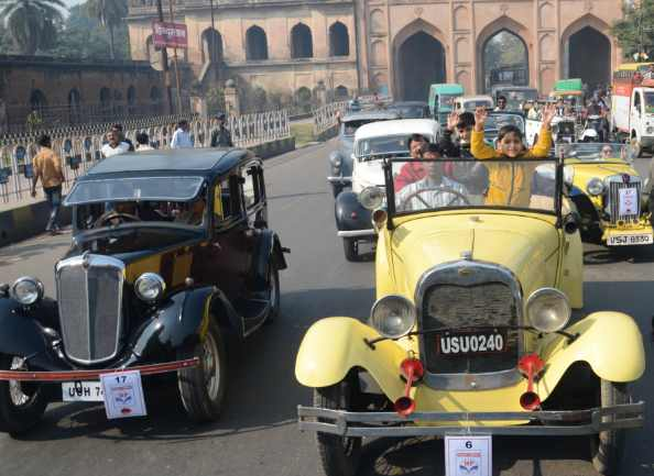 Vintage Car Rally In Lucknow ? ?? ? ?? ? ?