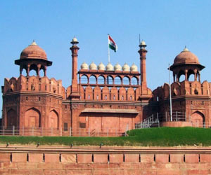 red fort au