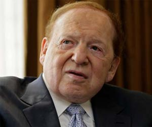 adelson made 254 crore rupees per day in 2013